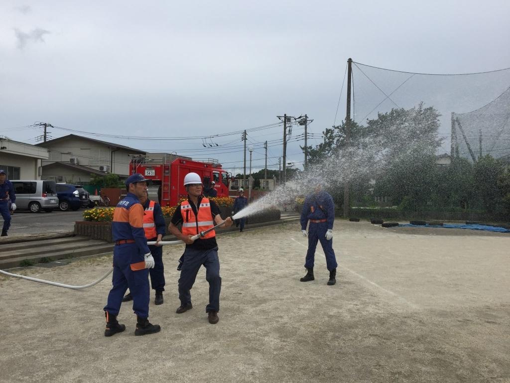 三山第一町会の防災訓練に参加してきました。